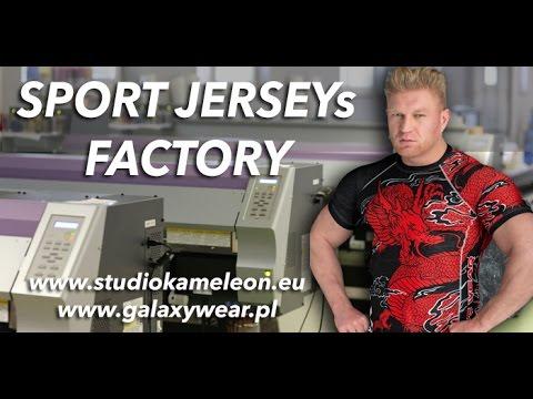 Sportwear Jersey Factory Kameleon Poland