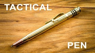 Tactical Self-Defense Pen How to Make