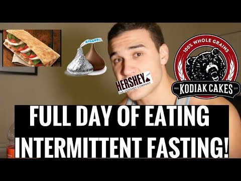 MY DIET TO LOSE WEIGHT! FULL DAY OF EATING USING INTERMITTENT FASTING! NUTRITION! 101