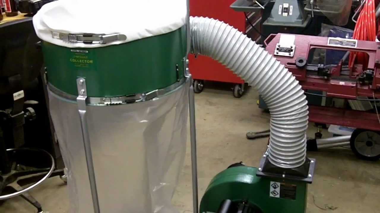 Harbor Freight 2hp Dust Collector Review Youtube