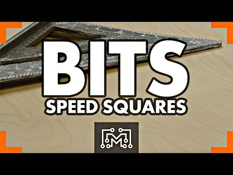 How to Use a Speed Square // Bits