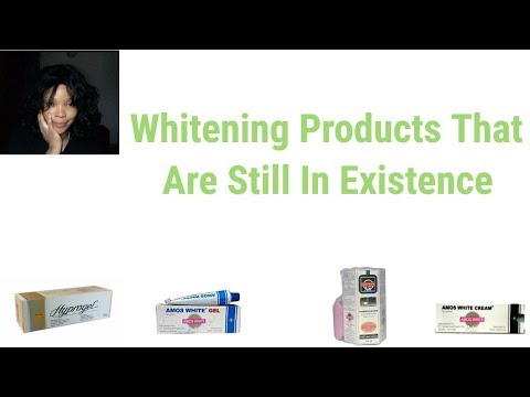 Whitening Products That Are Still In Existence | Whitening Skincare Products