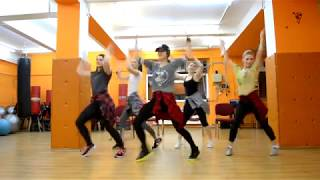 Sean Paul, David Guetta - Mad Love ft. Becky G Zumba Choreography Easy Dance JAZ Video