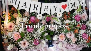 화단 vlog/  꽃집 일상, 트렁크 프로포즈, 로맨틱…