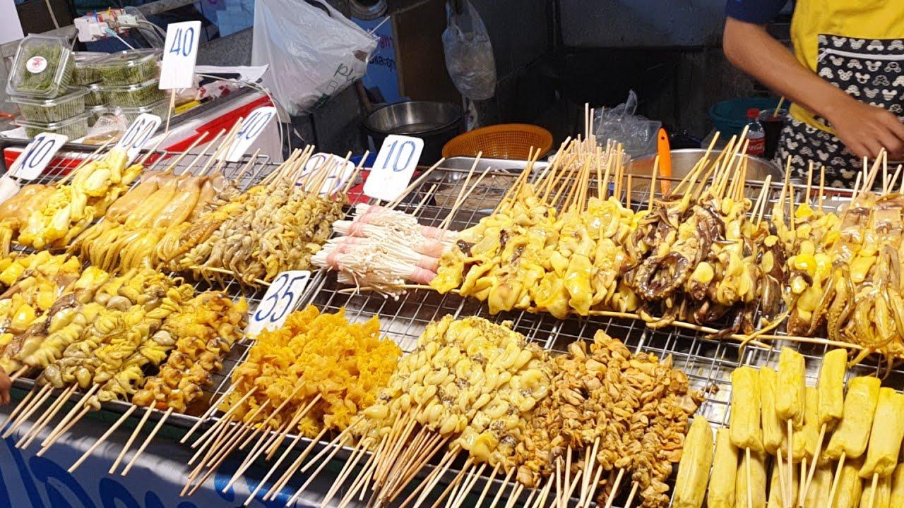 ขายวันละ 1,000 ไม้🐙 ร้านปลาหมึกสดย่าง คนรุม! น้ำจิ้มรสเด็ดโคตร มีให้เลือกมากกว่า 15 อย่าง Thai Food