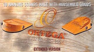 Ortega Guitars ANNAlog Percussion Stomp Box Demo   Extended Version   Frank Steffen Mueller