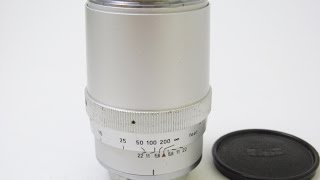 Carl Zeiss Sonnar 135mmF4  for Contarex