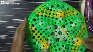 Lotus model Pooja koodai - தாமரை பூ பூஜை கூடை  Part- 1/7