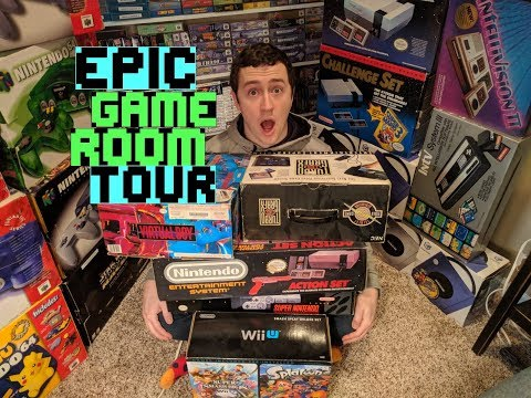 My Game Room Tour! // Epic Collection // TONS of Games & Systems!
