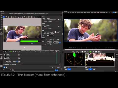 EDIUS 8.2 Tutorial -- MOTION TRACKING