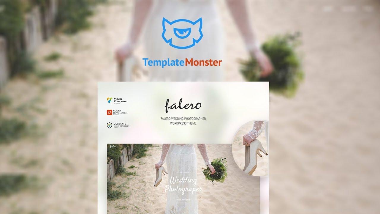 Falero Wedding Photographer Theme WordPress Theme # 64448