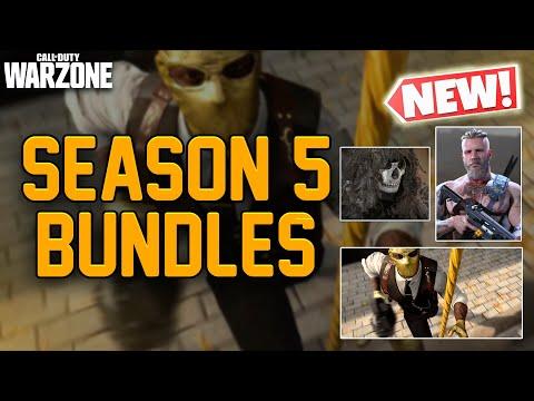 New Bundles Gold Mask Ragnarok Ghillie Ghost Call Of Duty Modern Warfare Warzone Season 5 Youtube