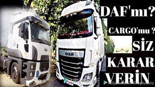 DAF & Ford CARGO TIRLARI'nın KARŞILAŞTIRILMASI / Yeni kameramla ilk çekimim