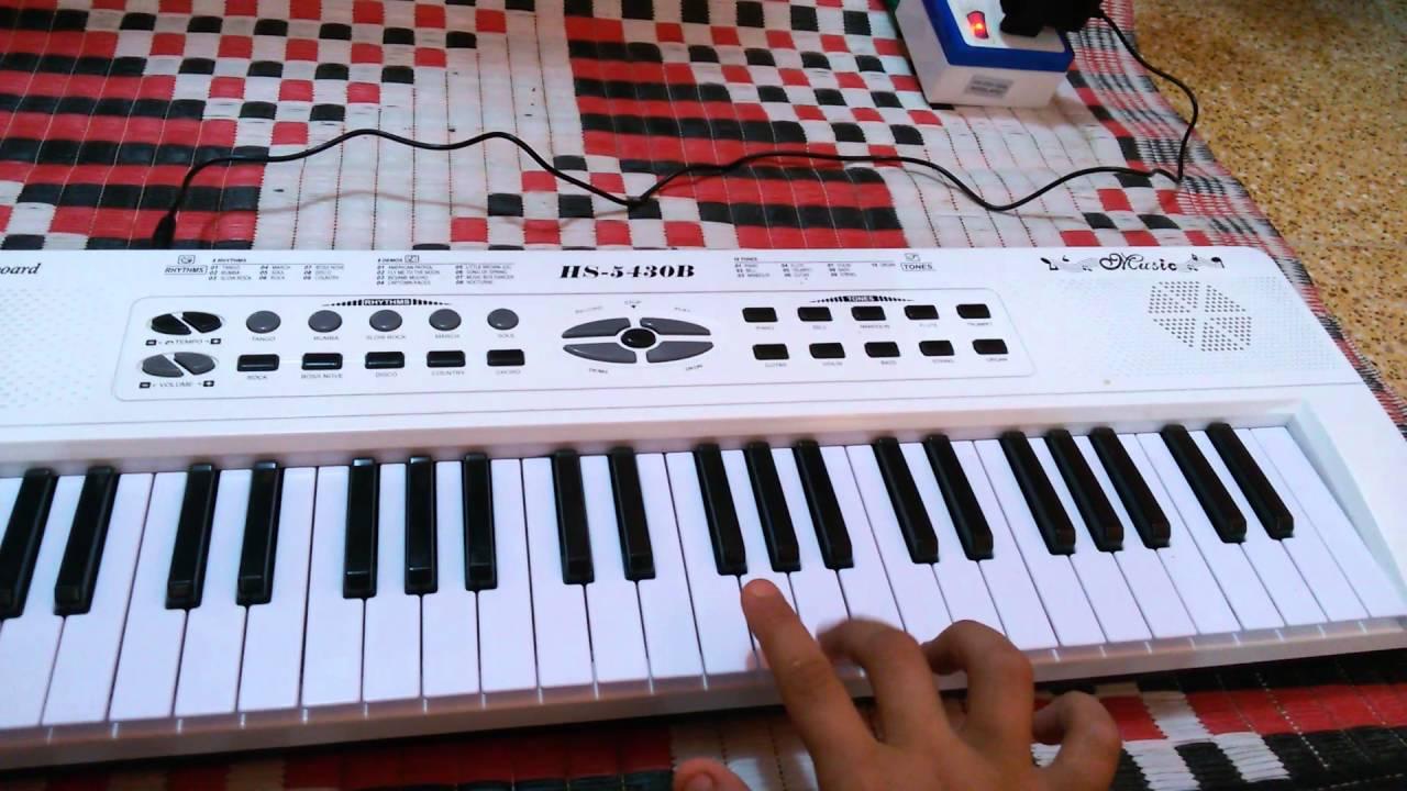 بيانو للبيع من يريد ان يشتتريه يقول لي Youtube