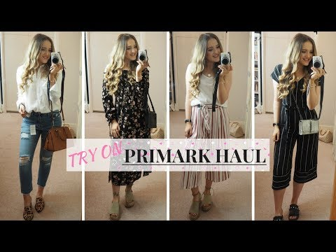 PRIMARK HAUL AND TRY ON | February 2018