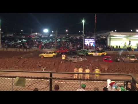 Demolition Derbies at Guernsey county fair 2017 part 2