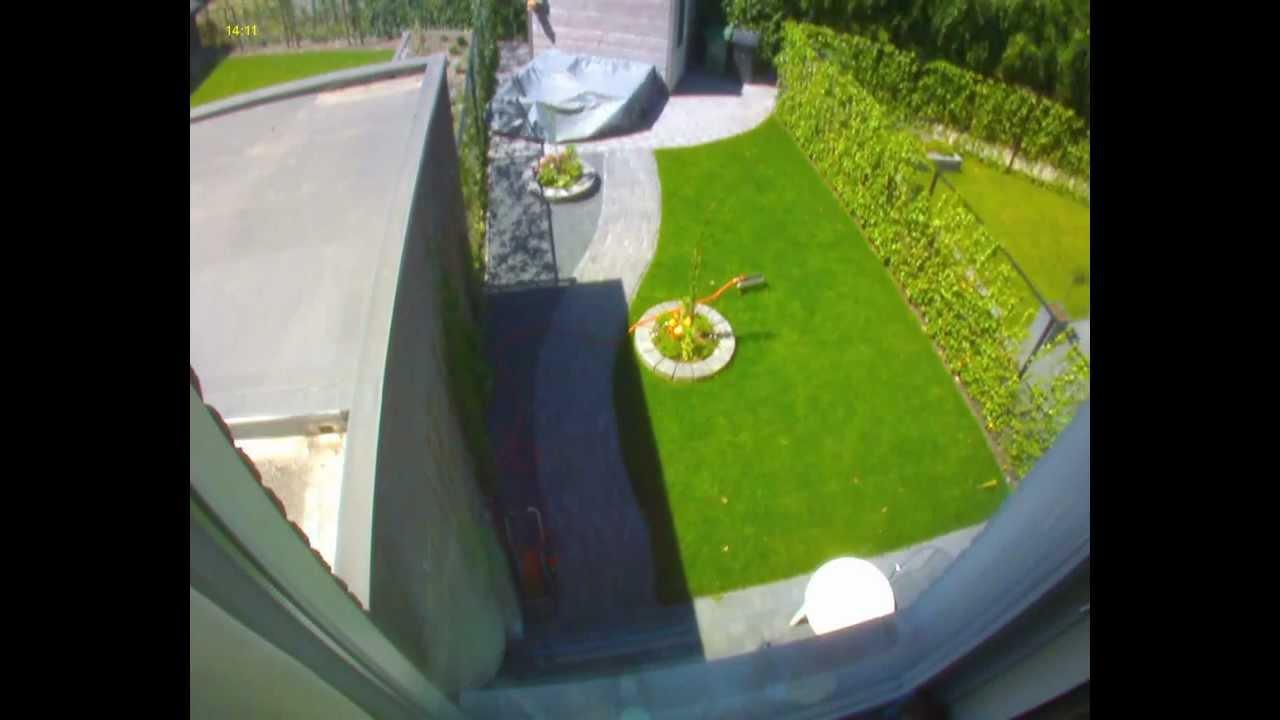 verloop zon in de tuin time lapse 20120525 youtube