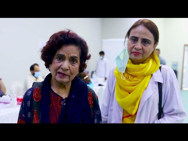 Haseena Moin | Covid-19 Vaccination Centre | Arts Council Karachi   #acpkhi #covid_19 #artscouncil