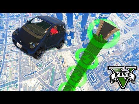 GTA V Online: MUITOS STUNTS e VELOCIDADE com PANTO!!! (ÉPICO)