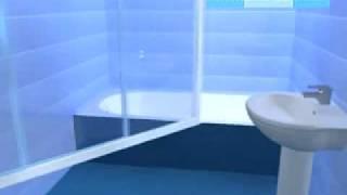Инструкция по монтажу шторы на ванну Классик(, 2010-12-30T10:33:31.000Z)