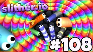 WORLD RECORD HIGHSCORE BREAKER IS BACK! - Slither.io Gameplay Part 108