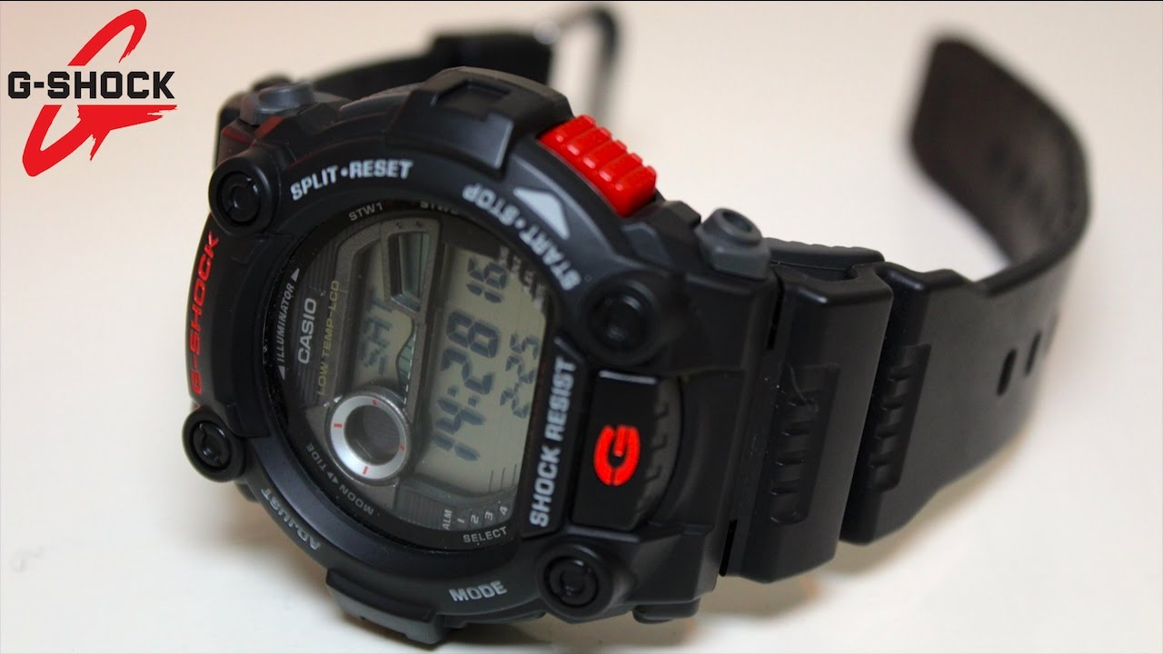 4c0f35a05c5 CASIO G-SHOCK G-7900-1ER Review - YouTube