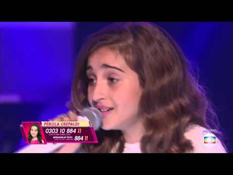 Luna Bandeira canta 'Um certo alguém' no The Voice Kids - Semifinal | Temporada 1