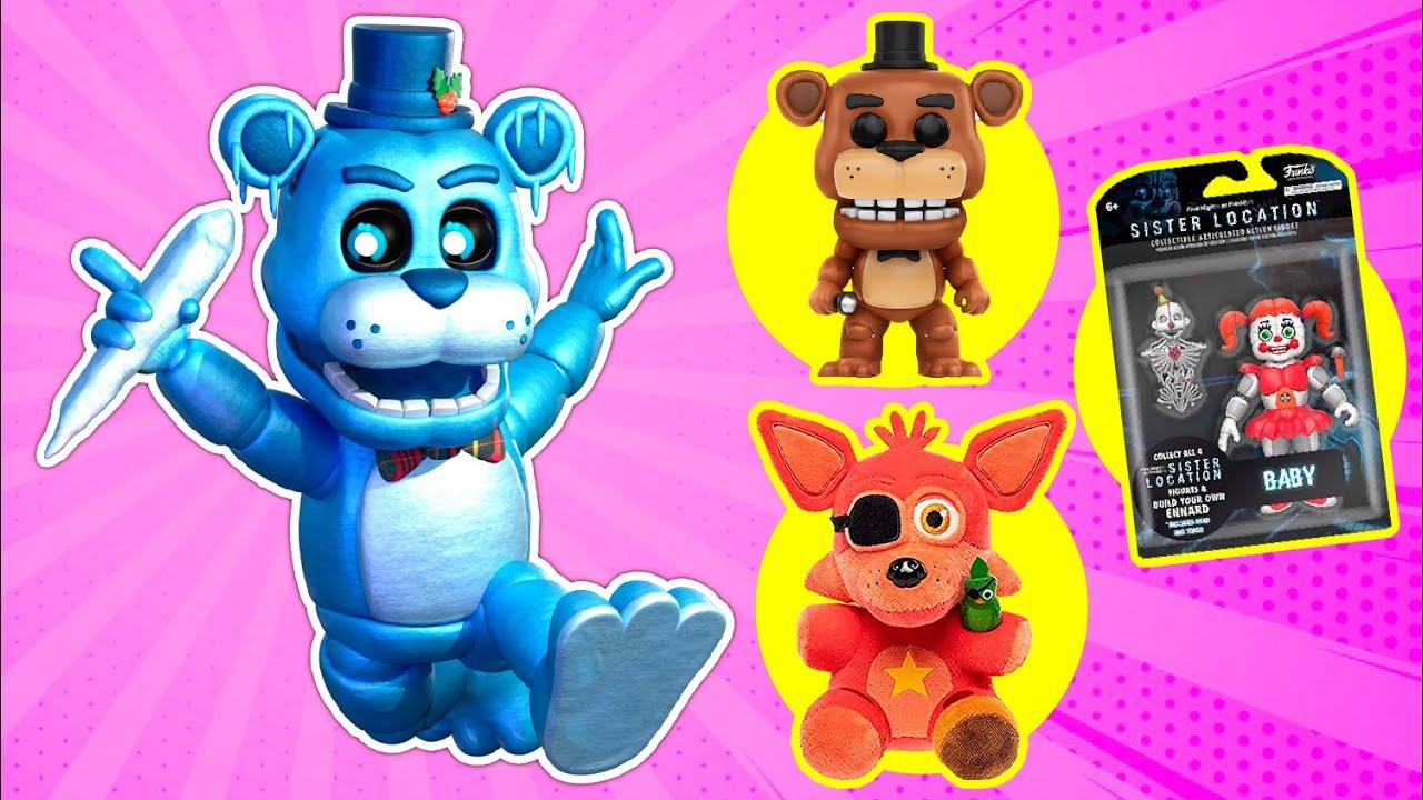 BRlNQUED0S Favoritos dos Animatrônicos de Mongo e Drongo Five Nights at Freddy's Special Delivery