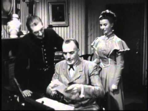 SHERLOCK HOLMES Unsold TV Pilot 1951.  The Man Who Disappeared w John Longden