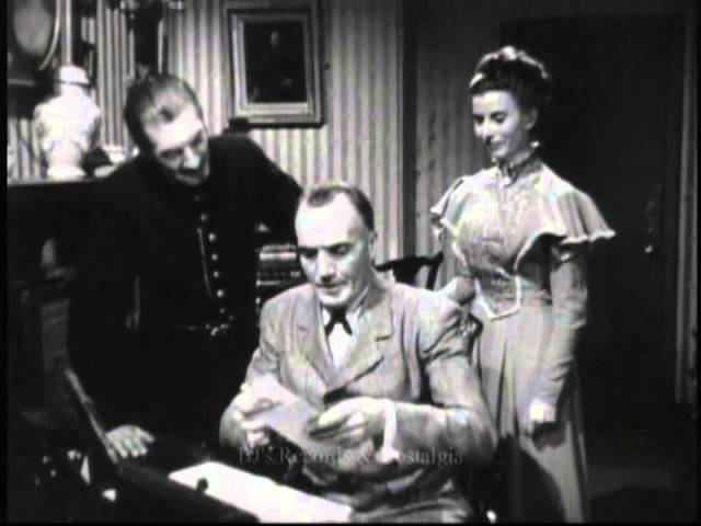 """Sherlock Holmes Unsold TV Pilot """"The Man Who Disappeared"""" (1951)."""
