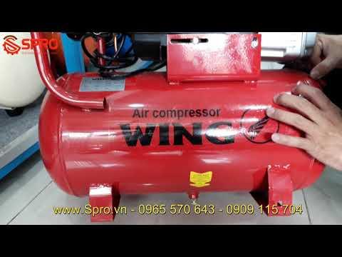 Máy Bơm Hơi Mini Xách Tay Giá Rẻ Wing 1.5HP Dung Tích 25L