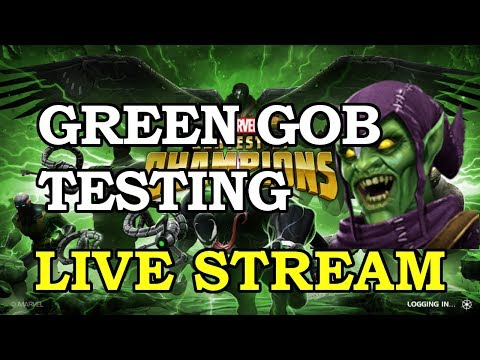 Green Goblin Testing | Marvel Contest of Champions Live Stream