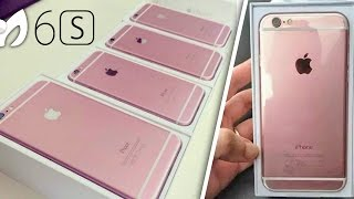 ¡FOTOS iPhone 6S ROSADO Rosa! NEW (Fecha 9 Sept - 19 Sept)