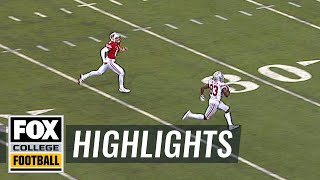 JT Barrett connects with Terry McLaurin for 84-yard touchdown | Highlights | FOX COLLEGE FOOTBALL