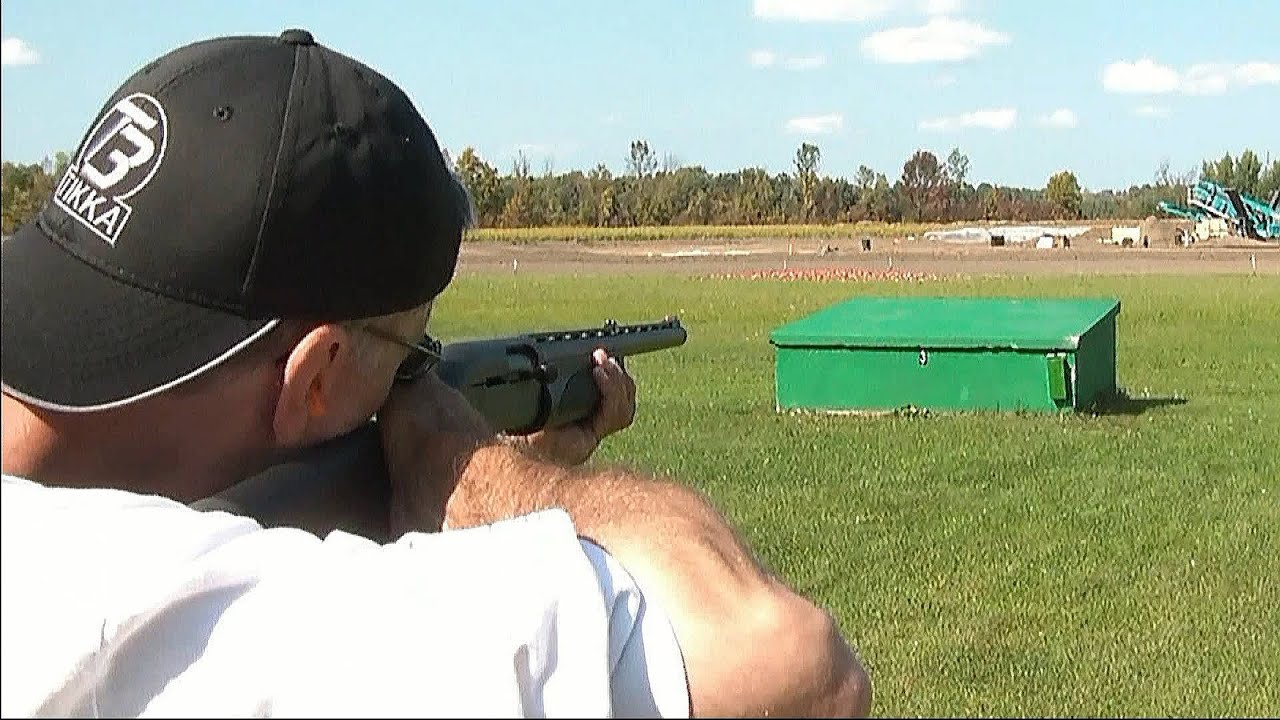 Trap Shooting at the range - YouTube