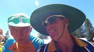 Tour Down Under - its 42 degrees C !!