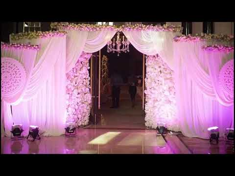 Wedding Decor Ideas For The Main Entrance Of The Wedding Venue