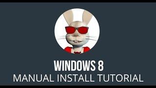 У Windows 8 Ручна Установка