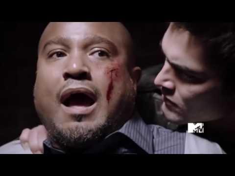 Teen Wolf Scott McCall Save hes boss from daerk (Season1Episode6)