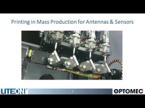 Bringing 3D Printed Electronics into Mass Production