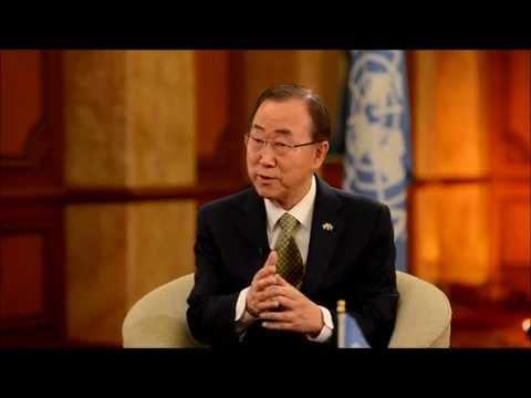 Interview with U.N. Secretary General Ban Ki-Moon