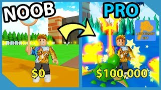 Noob To Pro! Spending All My Robux! Legendary Net! - Roblox Star Simulator