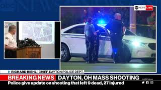 Dayton, Ohio shooting: Police give update on overnight shooting | ABC News