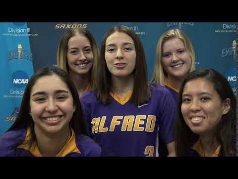 Alfred University Softball - Tati Meija thumbnail