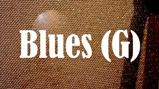 Rock & Roll Blues Backing Track (G)