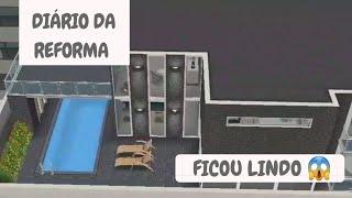 Diário da reforma - RESULTADO FINAL | The The sims free play - Hannalice sims