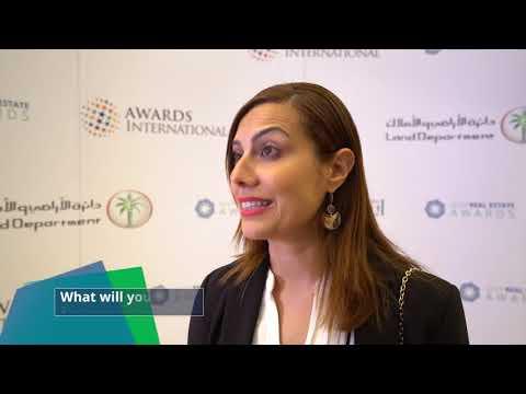 Gulf Real Estate Awards 2018 Interview – Zeina Kourki