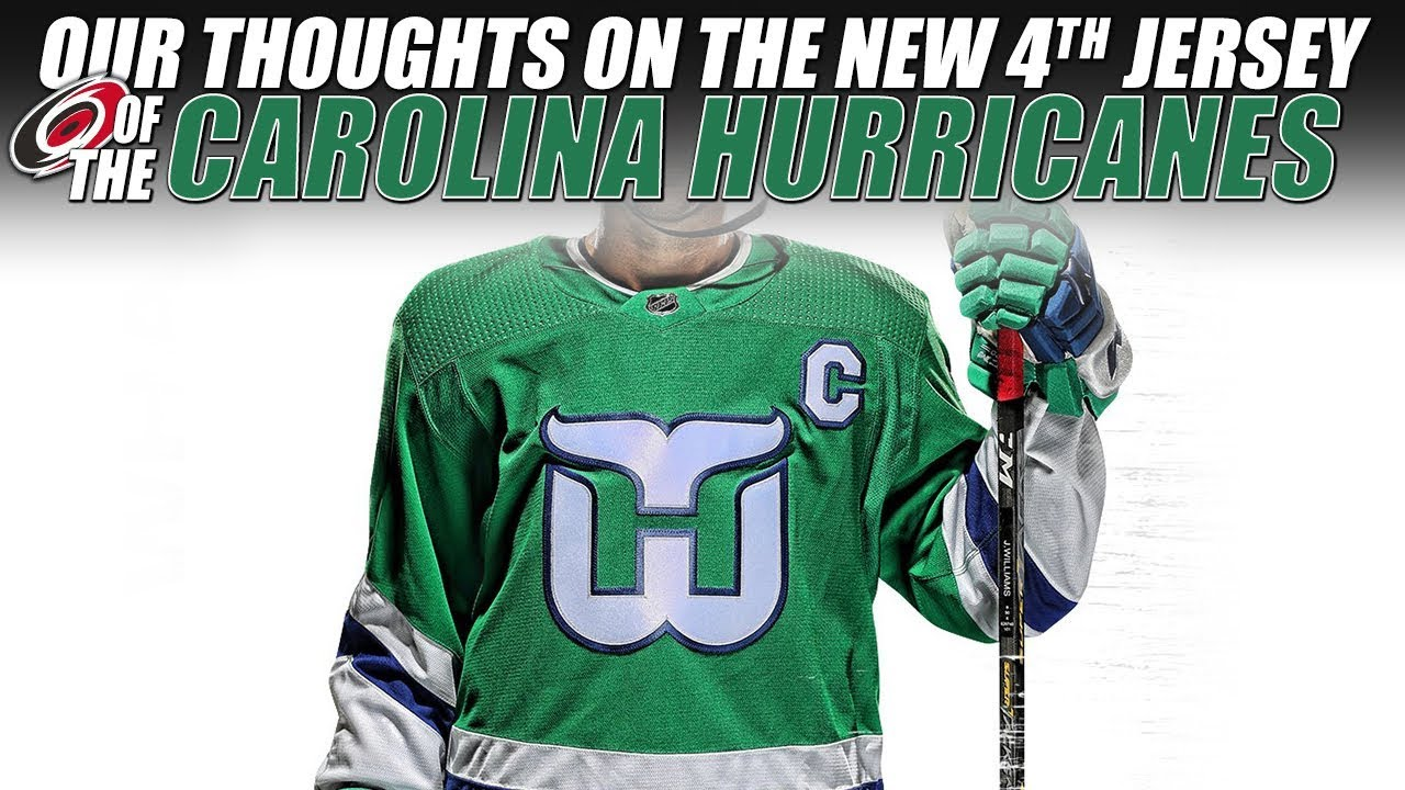 8165e404 Our Thoughts on the New Carolina Hurricanes 4th Jersey! - YouTube