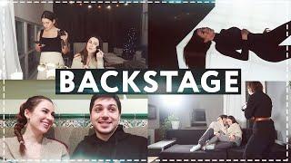 BACKSTAGE | Реакция парня на мой клип | Отвечаю на негатив | О чем песня и клип