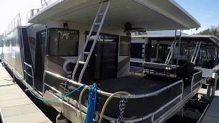 1993 Sumerset 16 x 72WB Houseboat For Sale on Dale Hollow Lake TN
